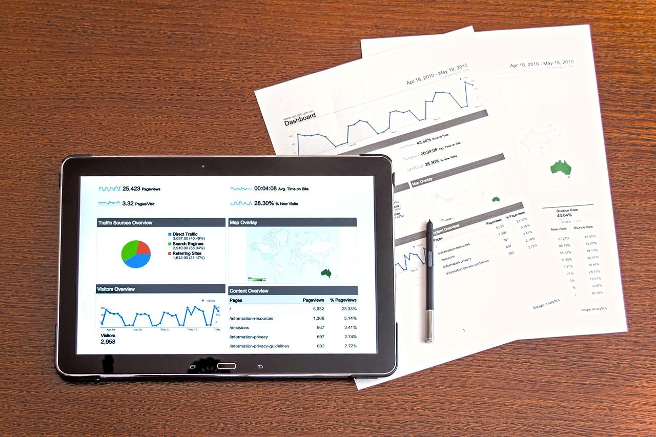 Graphic analysis illustration